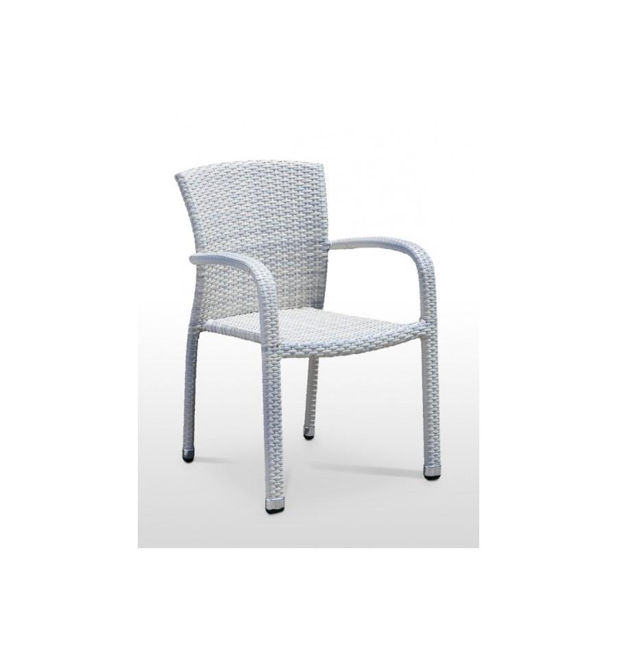 Silla de terraza benidorm sillas y mesas de madera for Mesas y sillas para terraza