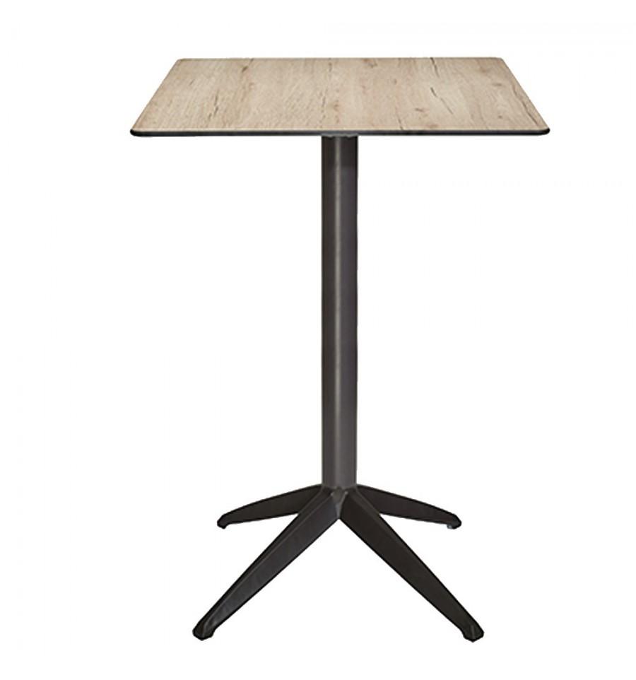 Mesa terraza formentera alta sillas y mesas de madera - Mesa de terraza ...