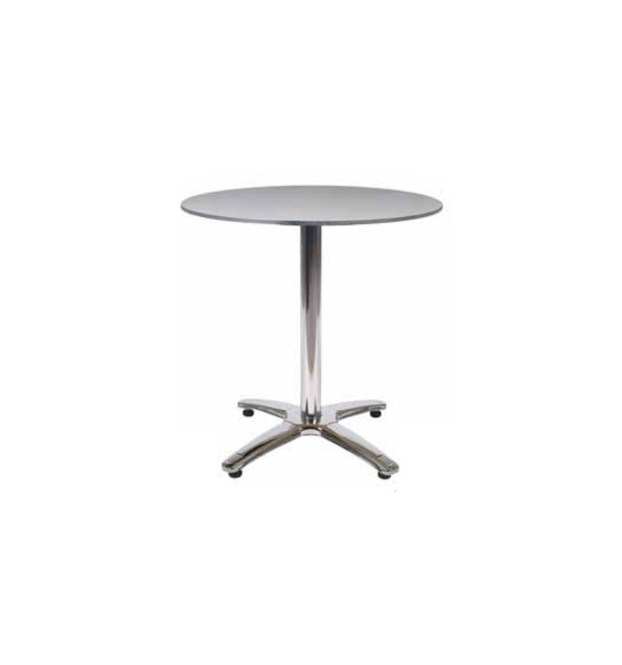 Mesa de aluminio para terrazas sillas y mesas de madera for Mesas de madera para terraza