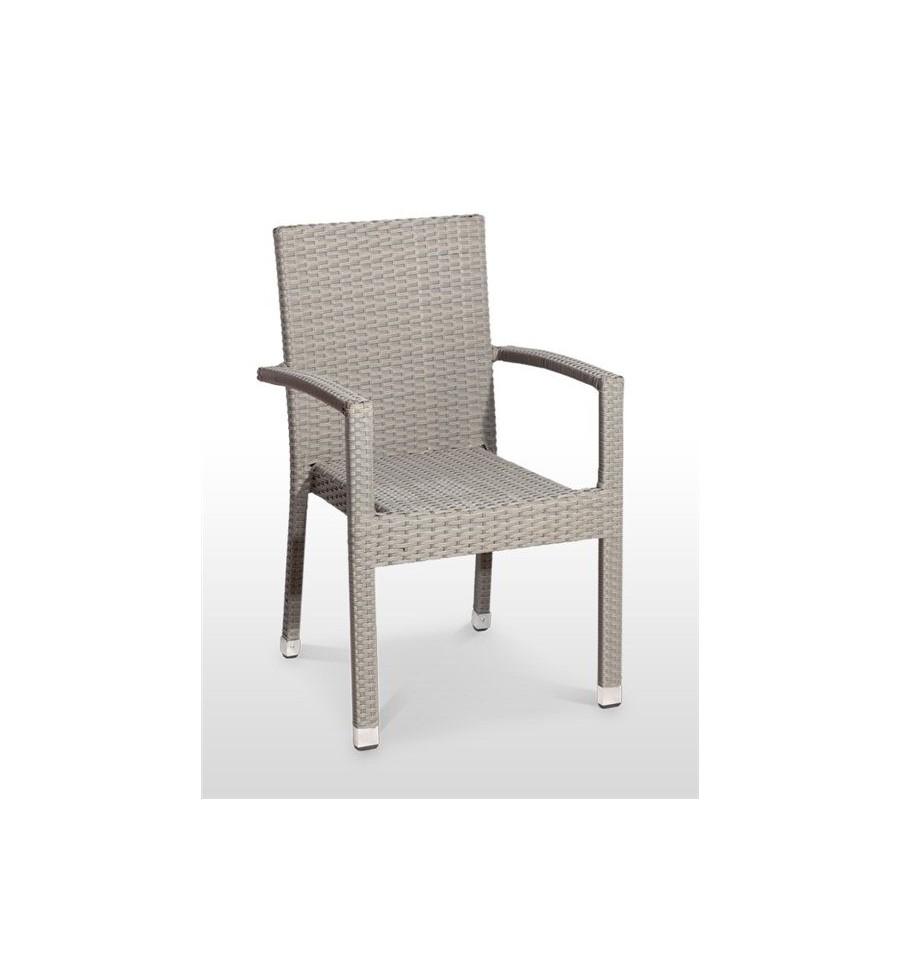 Sillon cullera rat n apilable sillas y mesas de madera for Sillon terraza madera