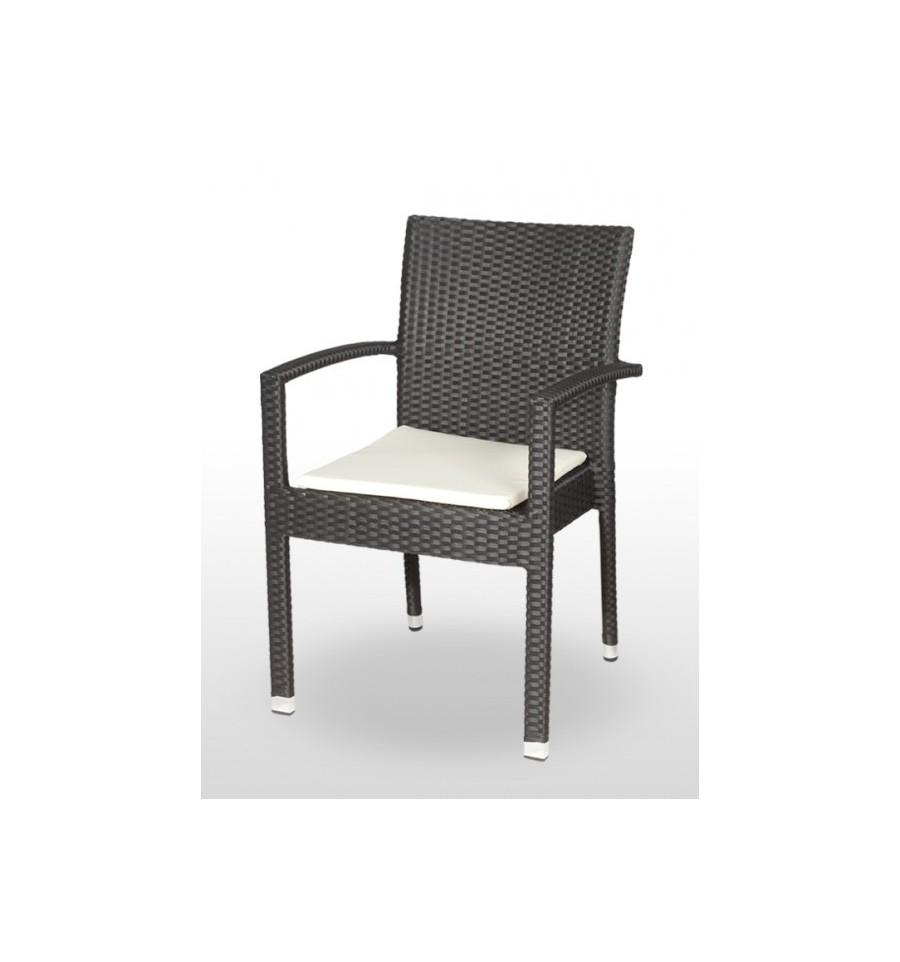 Sillon cullera rat n apilable sillas y mesas de madera for Terraza rattan oferta