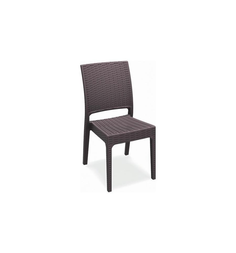 Silla boston ratt n sintetico sillas y mesas de madera for Terraza rattan oferta