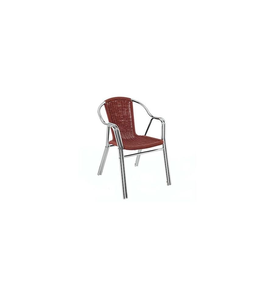 Sill n terraza javea mobiliario hosteler a sillas y for Sillon terraza madera
