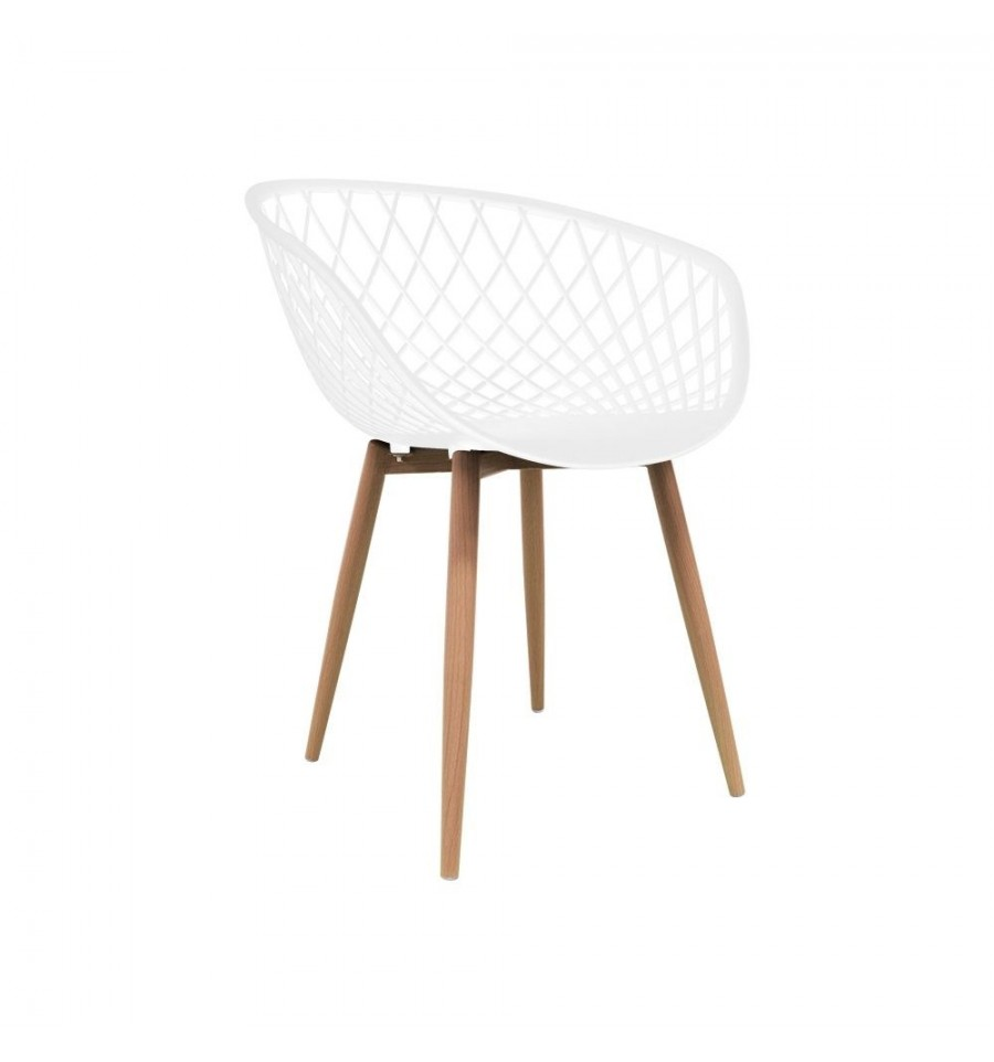 Silla n rdica silkeborg mobiliario dise o sillas y mesas for Silla nordica madera