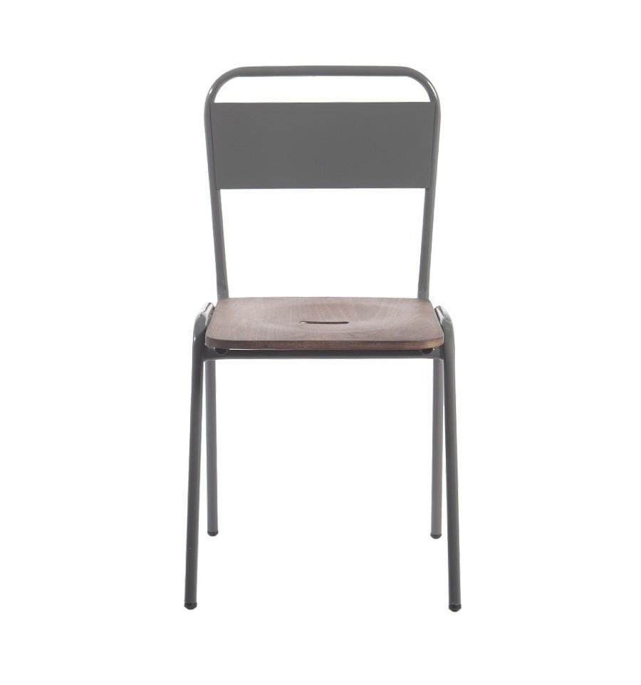 Silla da vinci sillas vintage sillas y mesas de madera - Mobiliario industrial vintage ...