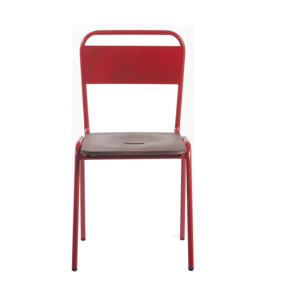 Silla da vinci sillas vintage sillas y mesas de madera - Mobiliario vintage industrial ...