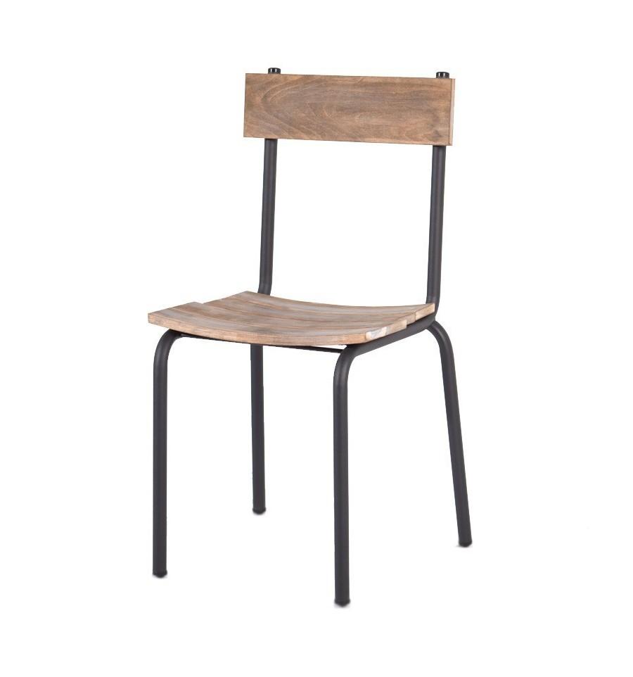 Silla tokio sillas vintage sillas y mesas de madera - Mobiliario industrial vintage ...