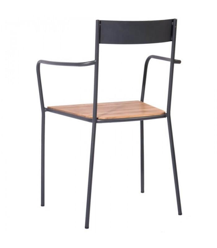 Silla boccioni sillas y mesas de madera mobiliario industrial for Sillas mobiliario