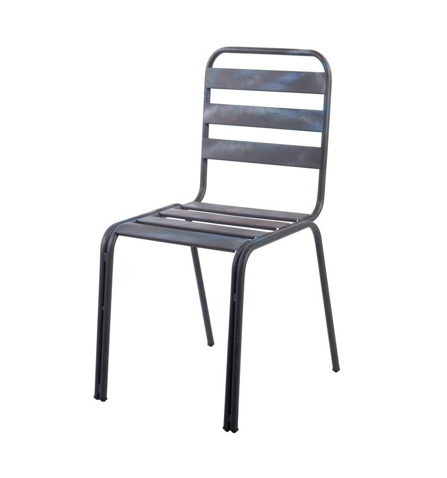 Silla van dick sillas y mesas de madera mobiliario industrial - Sillas vintage industrial ...
