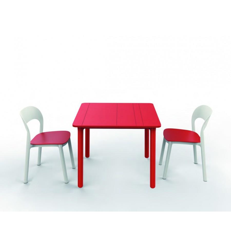 Mesa calv a 90x90 mesa hosteleria sillas y mesas de madera for Mesas y sillas hosteleria