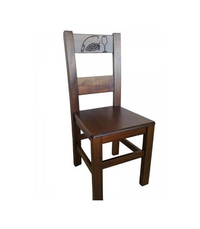Silla hostelería Viñeda | Mobiliario de Hostelería-Sillas madera Rusticas