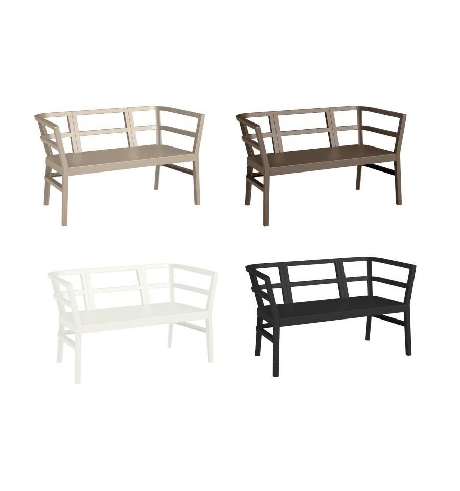 Conjunto de sofas para terrazas ainoa sillas y mesas de for Sofa terraza madera