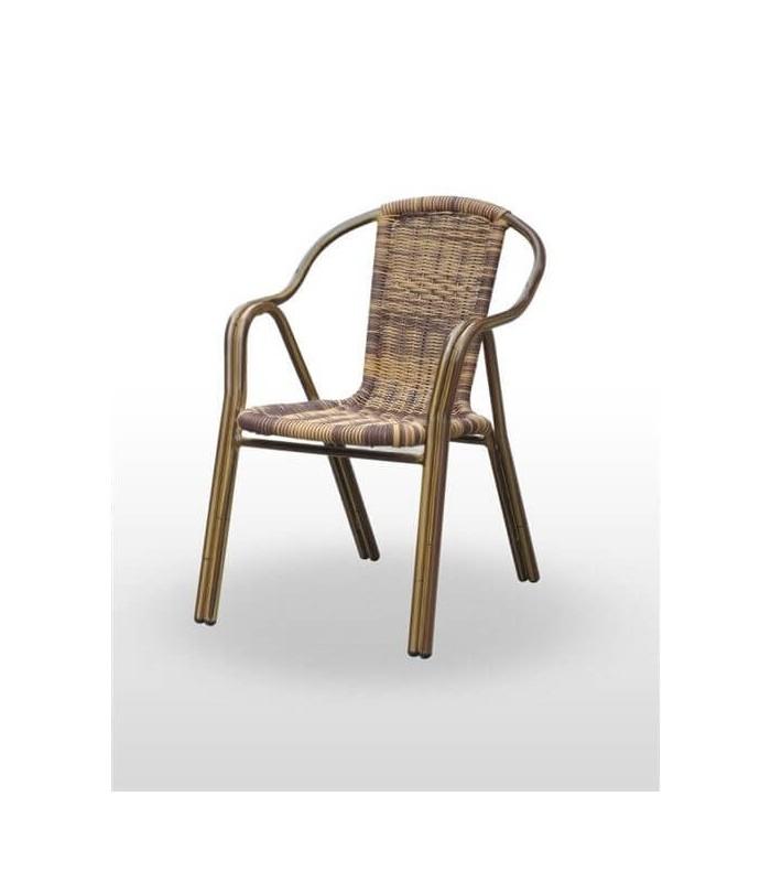 Sillón Terraza Bamboo|Muebles de Hosteleria