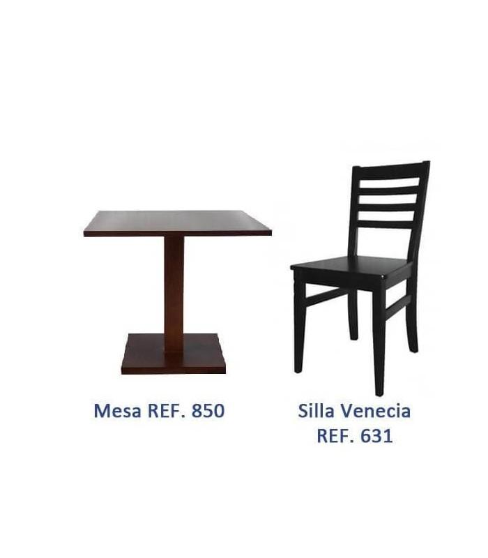 Ofertas mobiliario hosteleria madera sillas y mesas de madera for Sillas de terraza de segunda mano