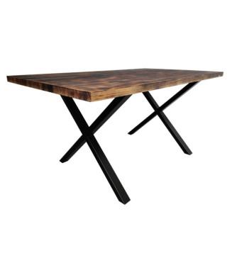 Mesa Lismore Efecto Quemado|Mesas Vintage madera macizas