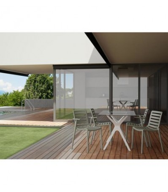 Silla Apilable Slatkat|Silla Hoteles- Mobiliario Hostelería diseño