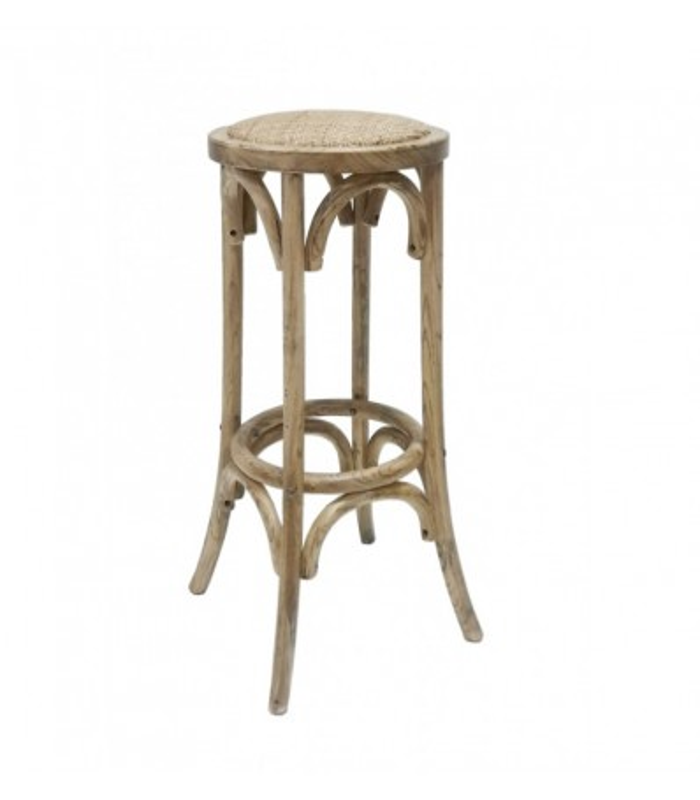 taburete thonet madera rattan |bar-restaurantes