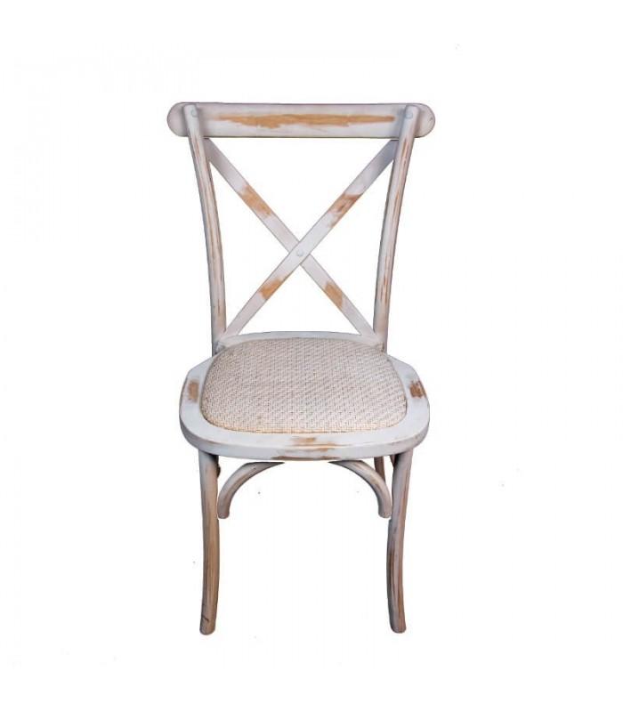 Silla Thonet Desgastada Vintage |Mobiliario Retro Apilable