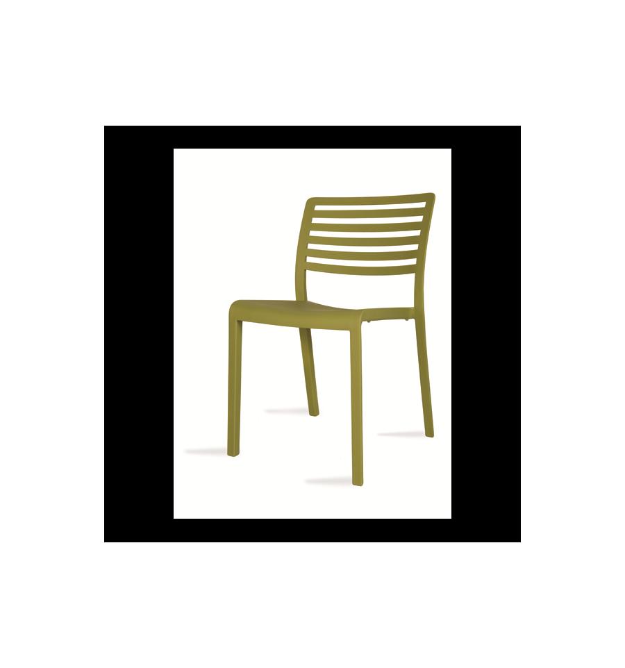 Silla terraza lama mobiliario hosteler a sillas y mesas for Oferta mobiliario terraza