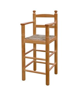 Trona Infantil| Sillas y mesas de madera- taburetes madera niño
