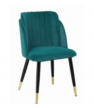 Silla Carla metal tapizado velvet|Sillas Comedor diseño 2020
