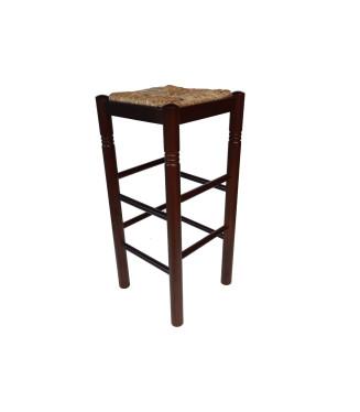 Taburete hostelería Colonial|Taburete madera rustico pino macizo