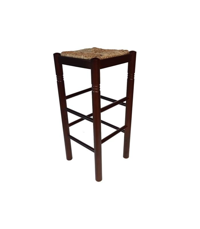 Taburete bares Colonial|Taburete madera rustico pino macizo