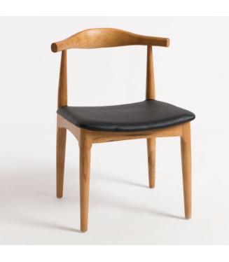 Silla Elbow madera nórdico vintage- Sillas estilo boho chic