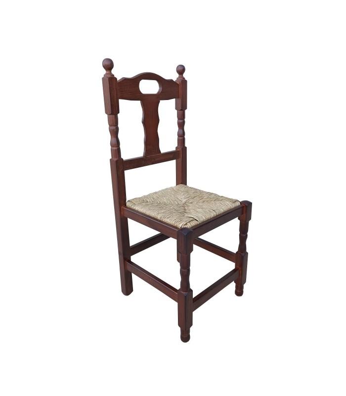 Silla hostelería Asa  Sillas madera asiento anea o tapizado