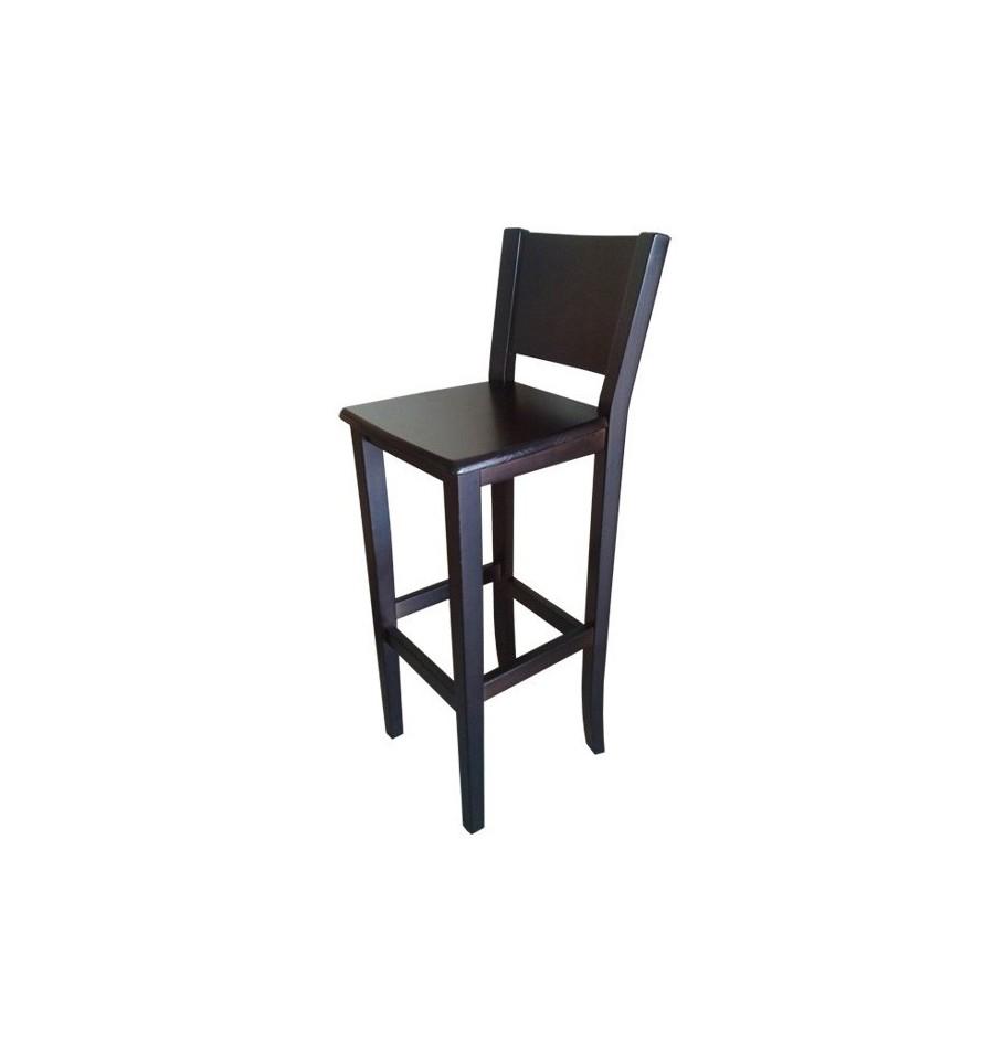 Taburete hosteler a respaldo 551 sillas y mesas de madera for Mesas y sillas hosteleria