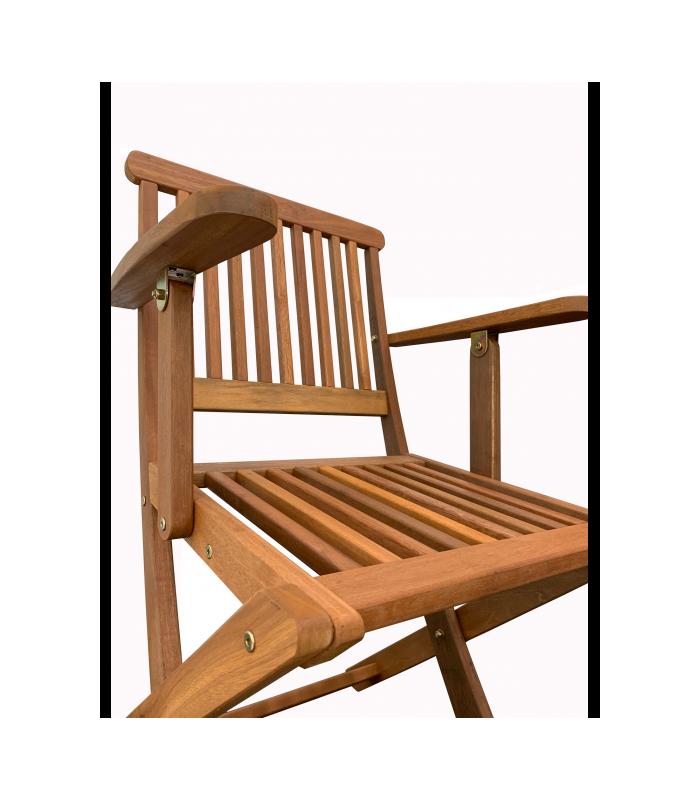 Silla Mascarell con brazos Sillas madera plegables