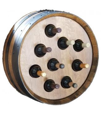 Cabeza Barril Botellero decoración| Sillas y Mesas de madera
