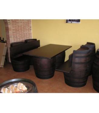 Pack bodega con barricas |Bares y restaurantes decoraciónes