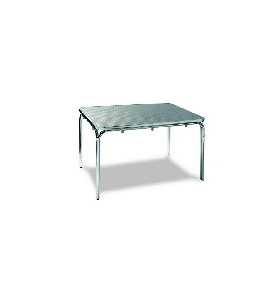 Mesa terraza aluminio sillas y mesas de madera for Casetas aluminio para terrazas