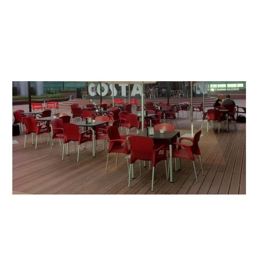 Silla hosteleria de terraza paris sillas y mesas de madera - Mesas y sillas de terraza para hosteleria ...