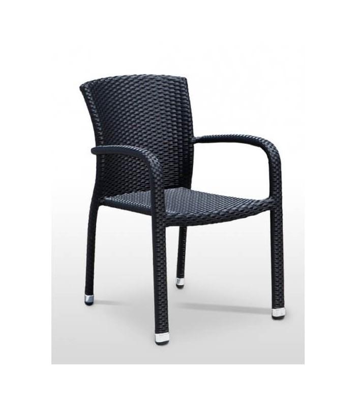 Silla terraza benidorm sillas y mesas de madera for Mesas y sillas para terraza