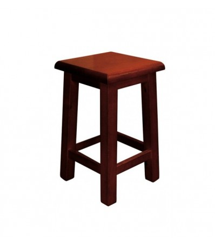 Taburete Alcora Bajo | Taburete de madera pino cocinas