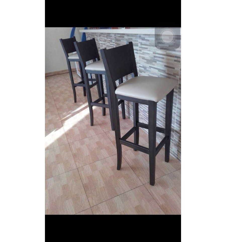 Taburete hosteler a respaldo 551 sillas y mesas de madera - Mesas para hosteleria ...