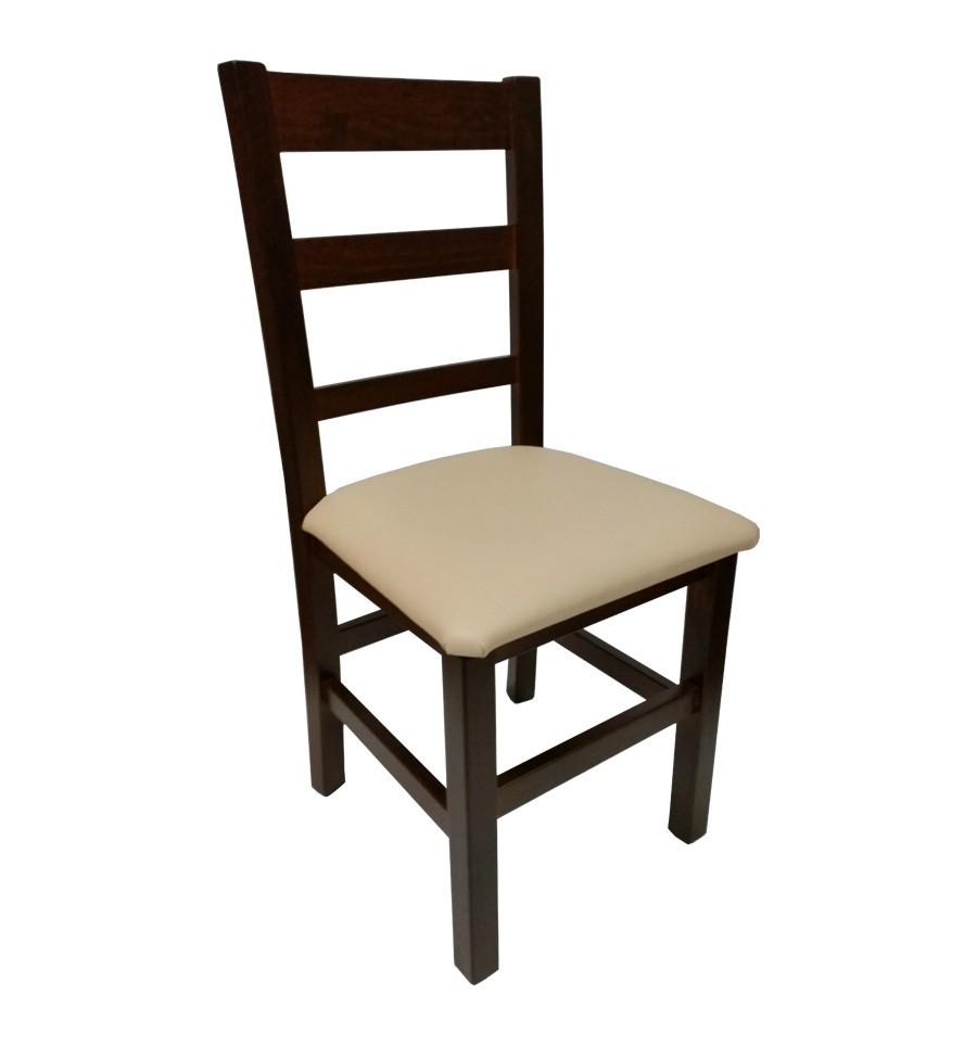Silla pedraza madera sillas y mesas de madera sillas de bares - Tapizar sillas de madera ...