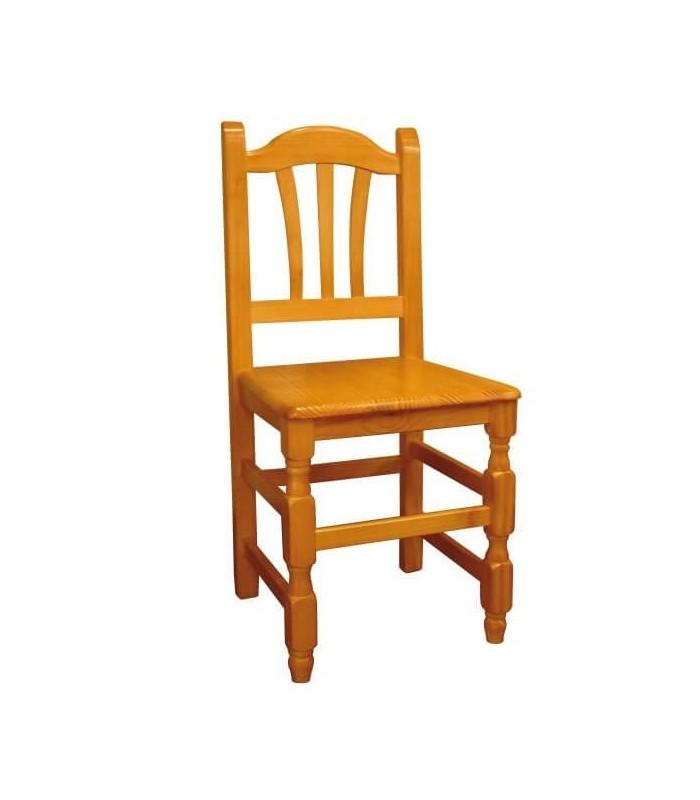 Silla de madera sillas y mesas de madera mobiliario de for Sillas de oficina de madera