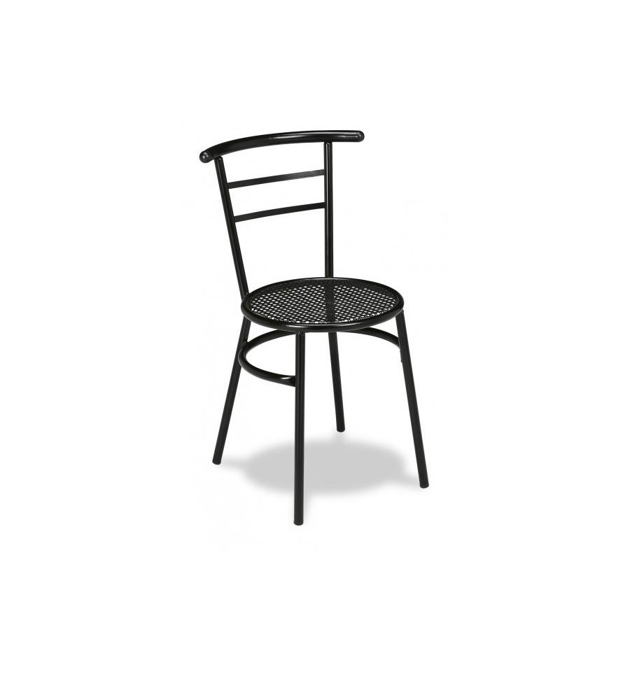 Silla hierro marsella mobiliario hosteler a sillas y for Mobiliario hosteleria