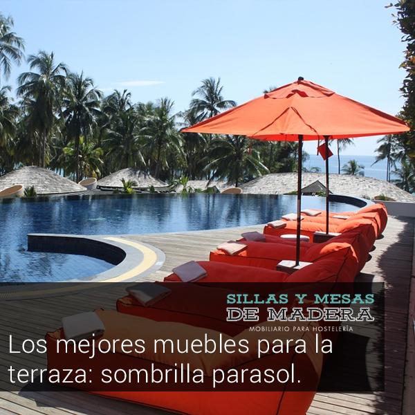 Los mejores muebles para la terraza sombrilla parasol - Sombrilla de terraza ...